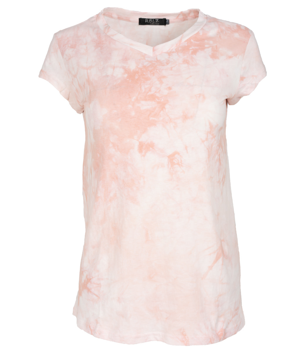 Rebelz Collection Shirt roze Nancy