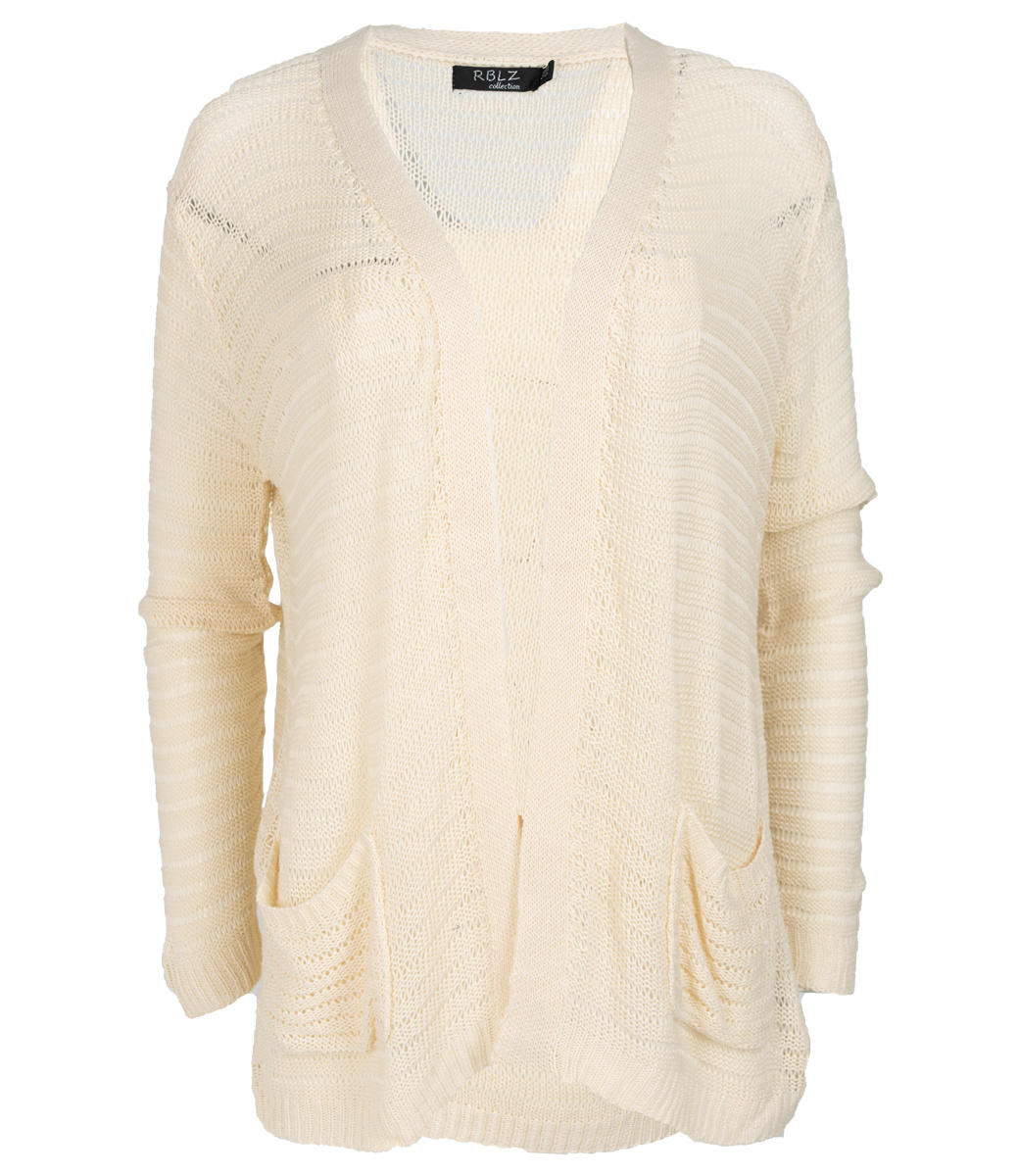 Rebelz Collection Vest beige Trudy