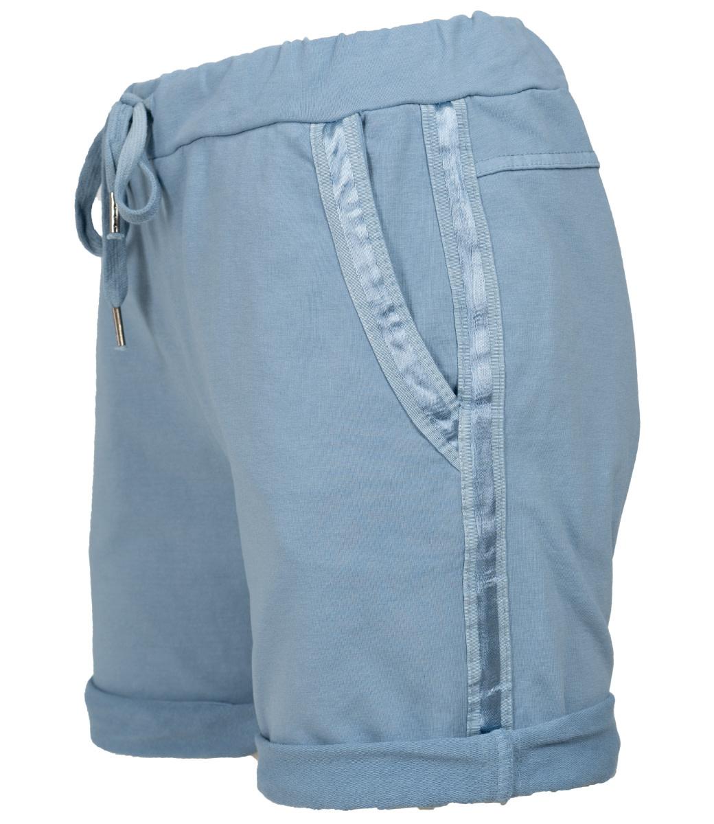 Gemma Ricceri Korte broek jeansblauw Nienke