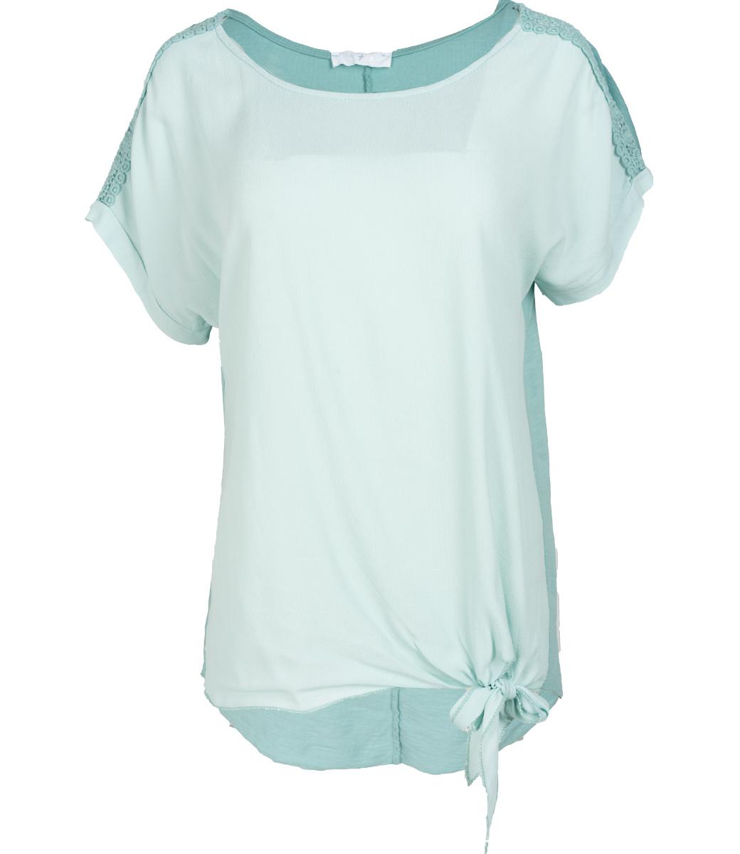 Gemma Ricceri Shirt mintgroen Madelief