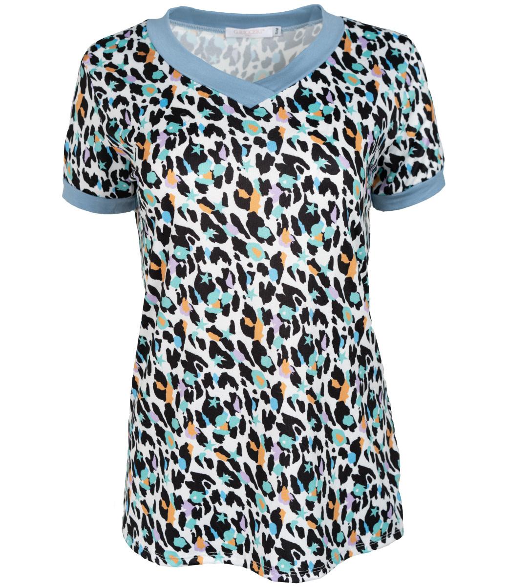 Gemma Ricceri Shirt jeansblauw Sandra