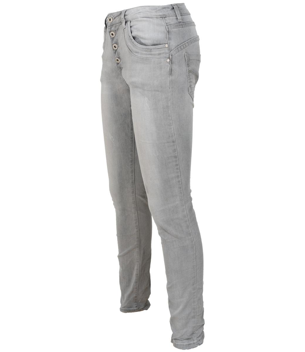place du Jour Jog jeans damaged grijs Ella