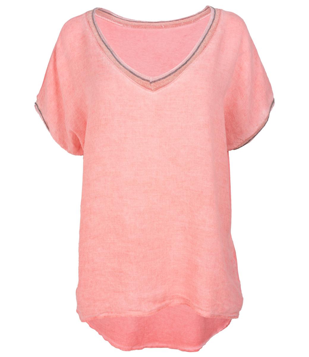 Wannahavesfashion Shirt koraal Bea