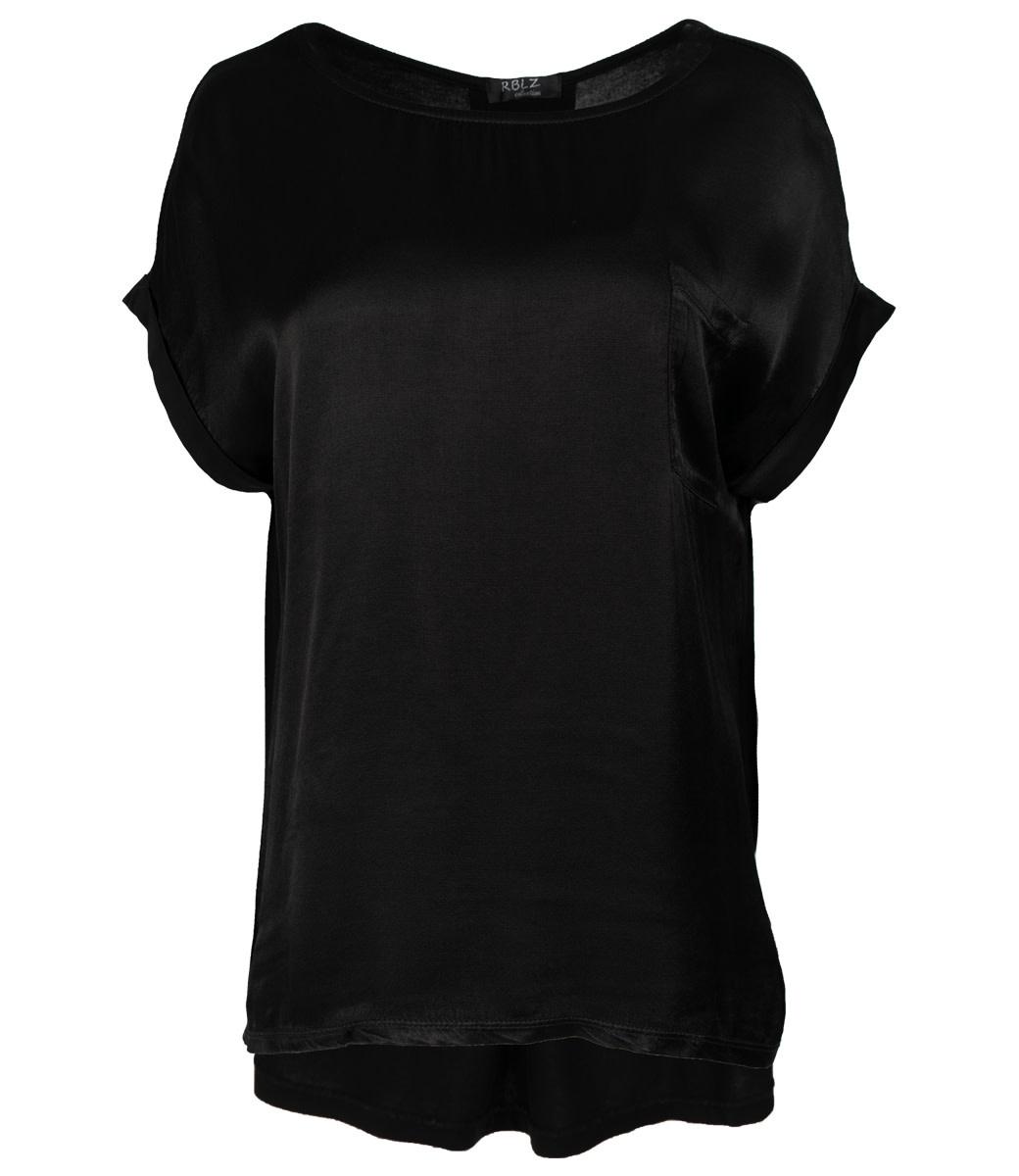 Rebelz Collection Shirt zwart Nadia