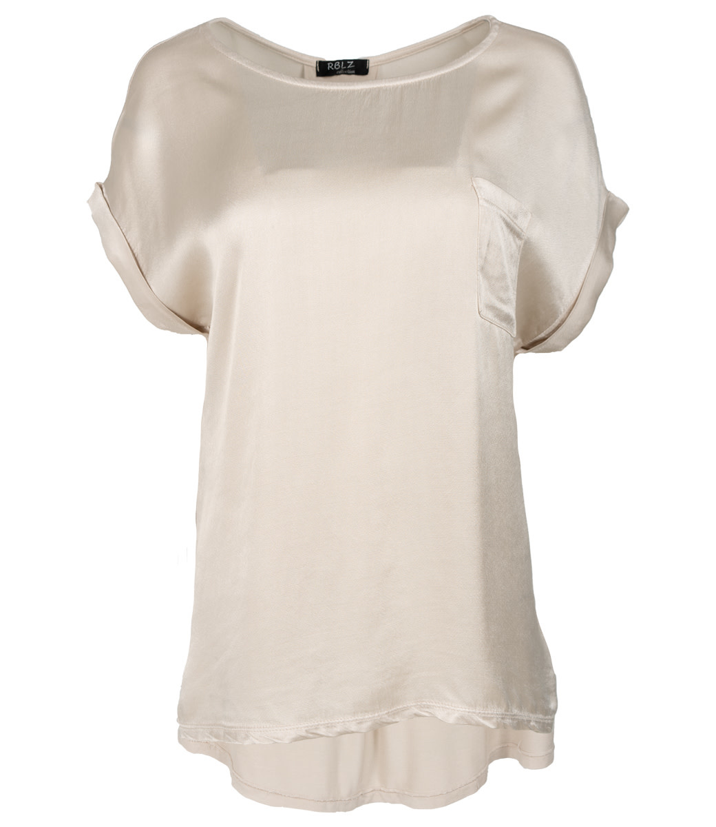 Rebelz Collection Shirt beige Nadia