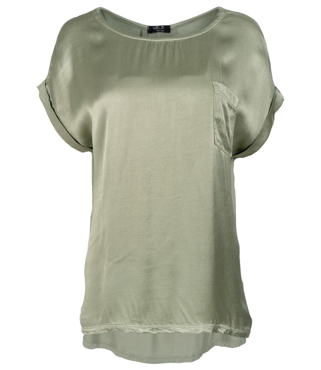 Rebelz Collection Shirt groen Nadia