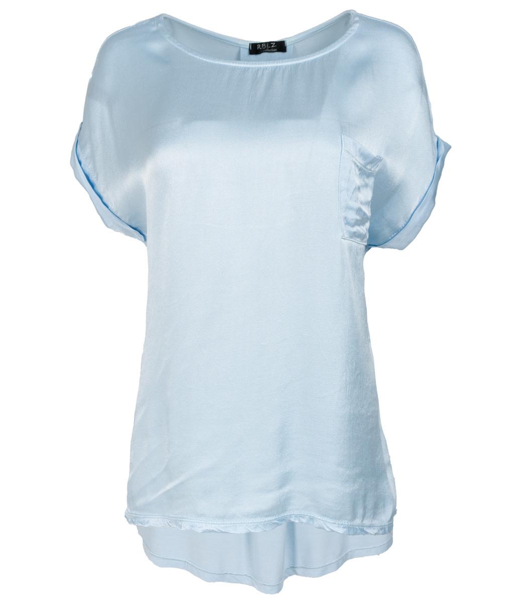 Rebelz Collection Shirt lichtblauw Nadia