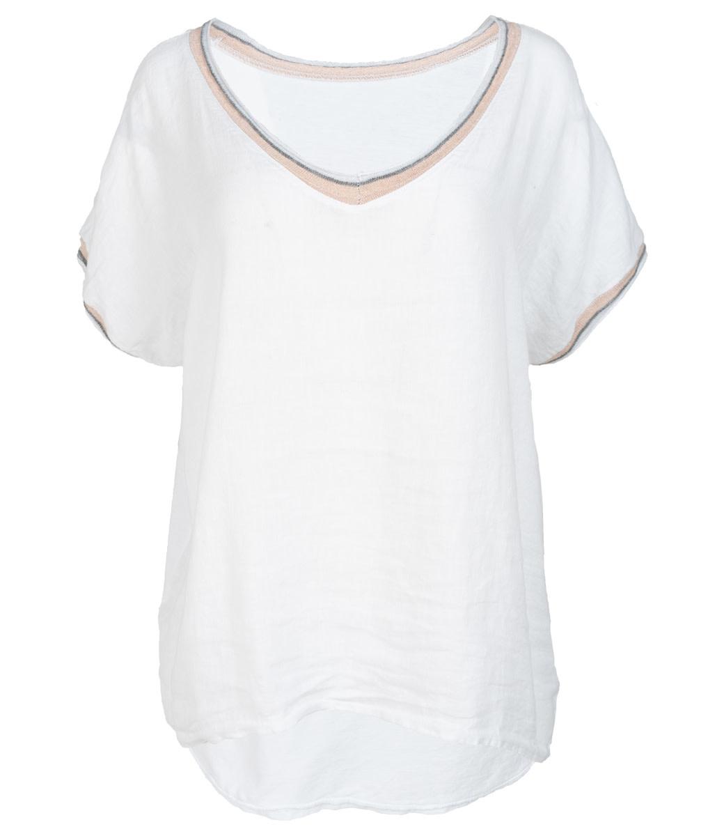 Wannahavesfashion Shirt wit Bea