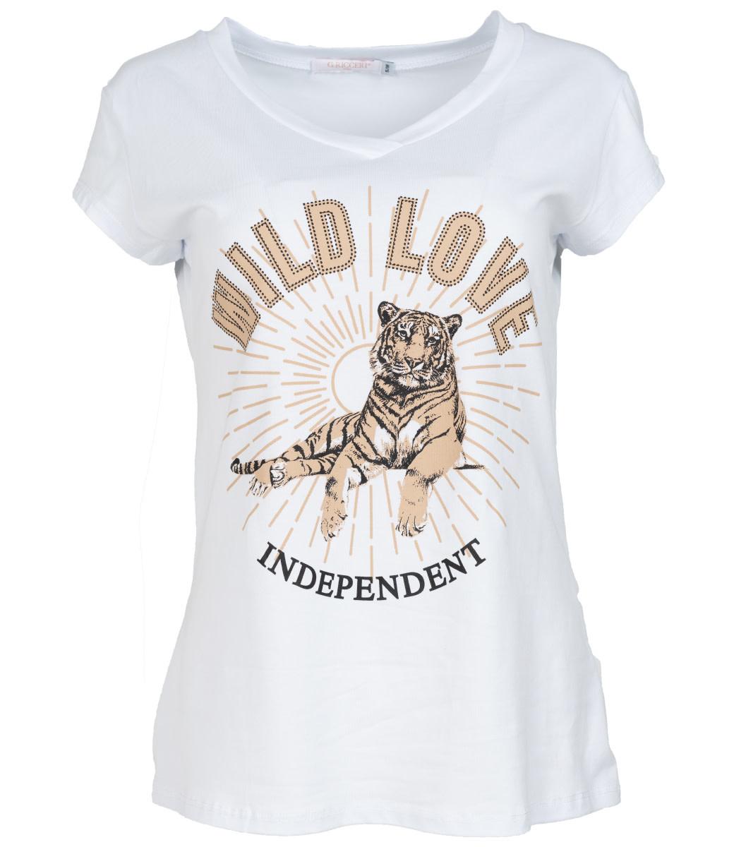 Gemma Ricceri Shirt wit wild love