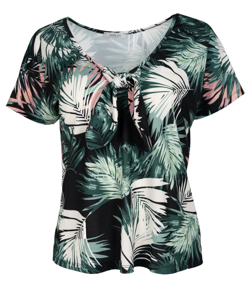 Gemma Ricceri Shirt zwart print Sonja