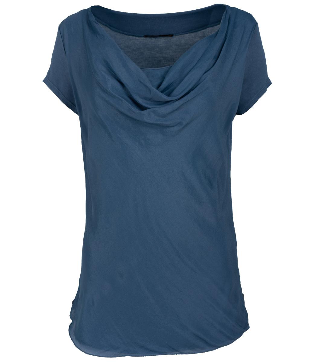 Gemma Ricceri Shirt jeansblauw Waterfall Loes