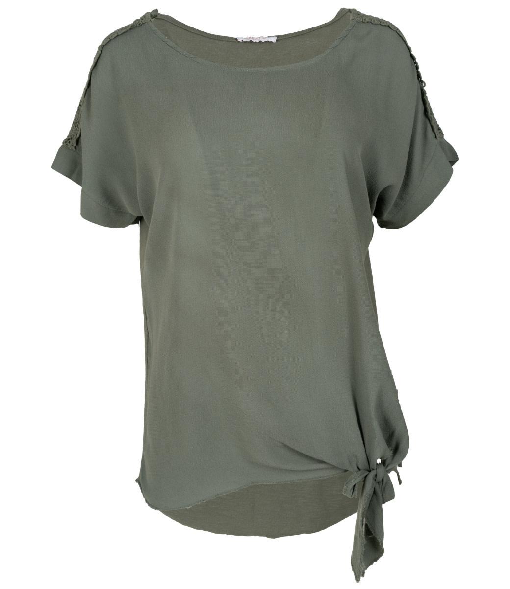 Gemma Ricceri Shirt groen Madelief