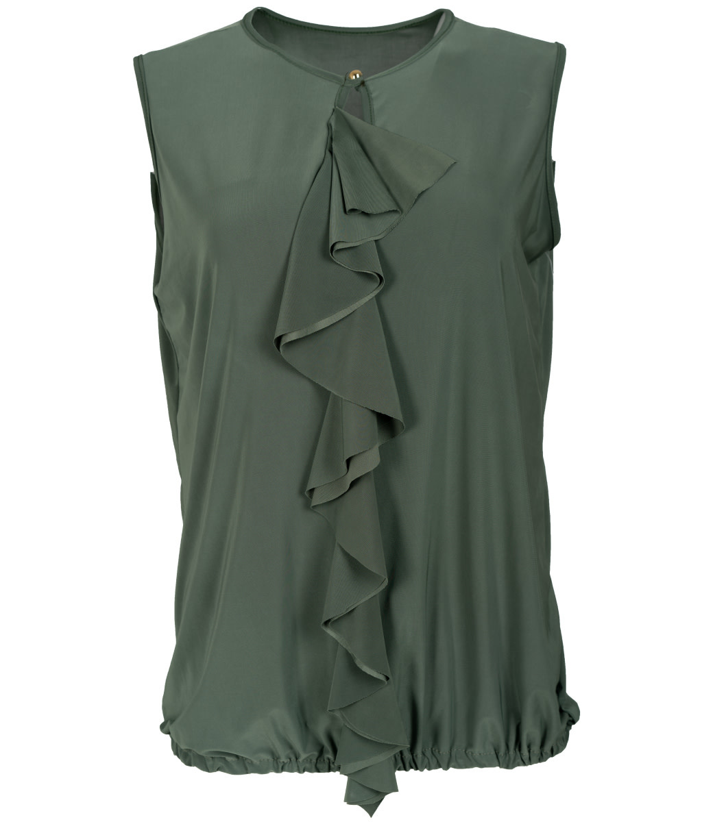 Wannahavesfashion Top groen Angela