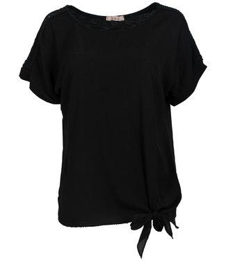 Gemma Ricceri Shirt zwart Madelief
