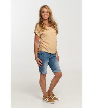 Gemma Ricceri Shirt camel Madelief
