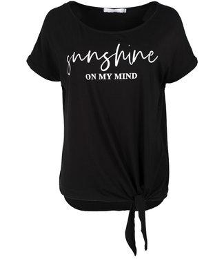 Gemma Ricceri Shirt zwart Sunny