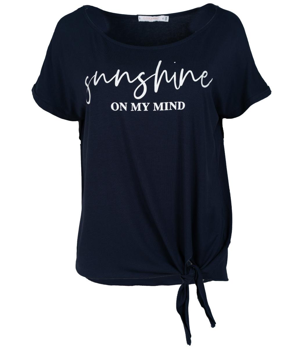 Gemma Ricceri Shirt blauw Sunny