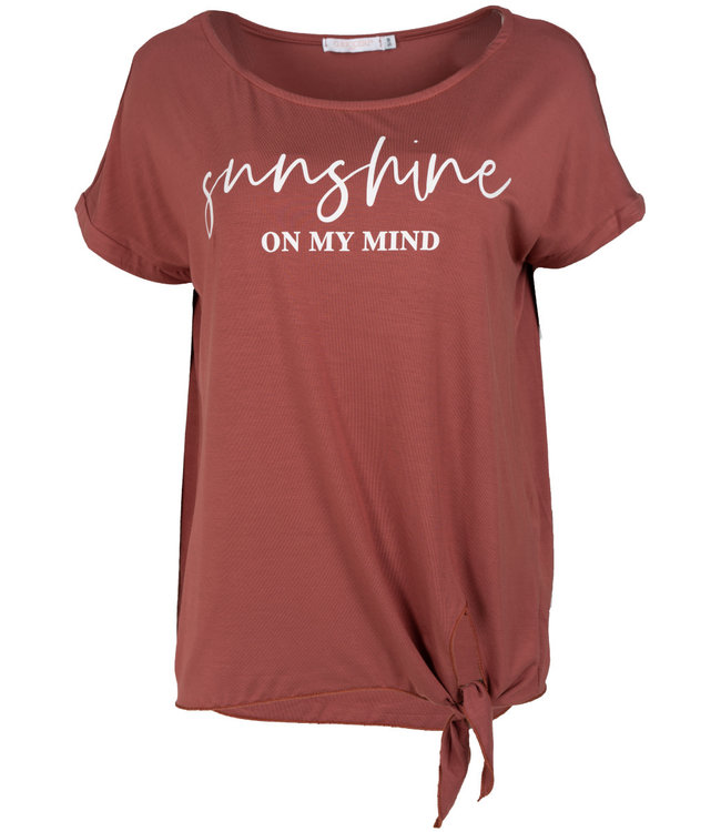 Gemma Ricceri Shirt peper roze Sunny