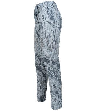Gemma Ricceri Broek jeansblauw print Lizzy