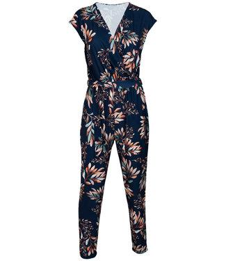 Gemma Ricceri Jumpsuit blauw print Dini