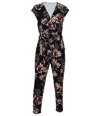 Gemma Ricceri Jumpsuit zwart print Dini