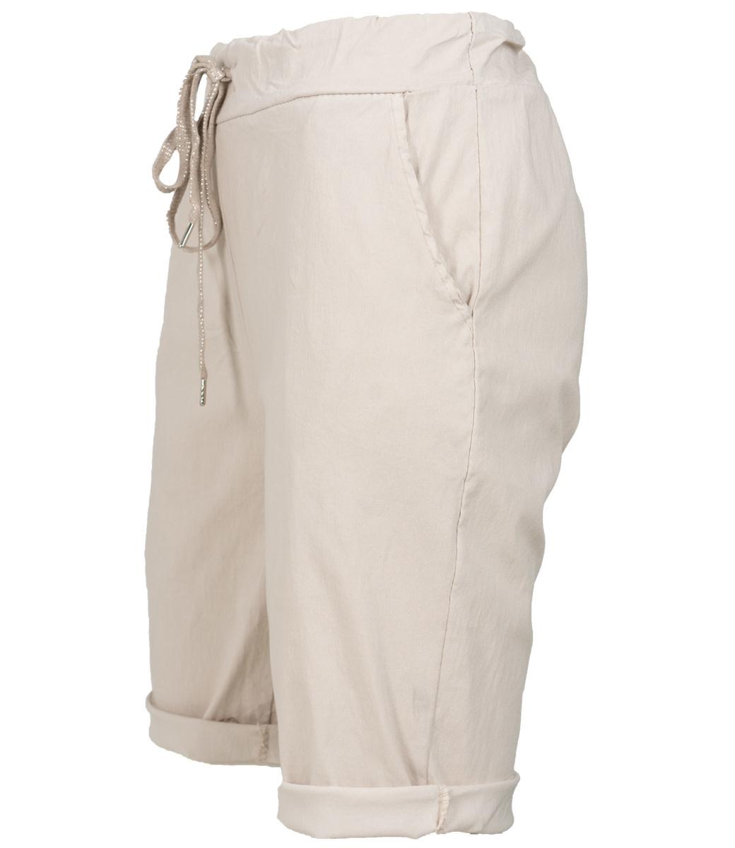 Wannahavesfashion Korte broek beige Cor