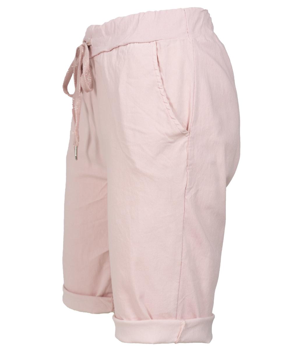 Wannahavesfashion Korte broek roze Cor