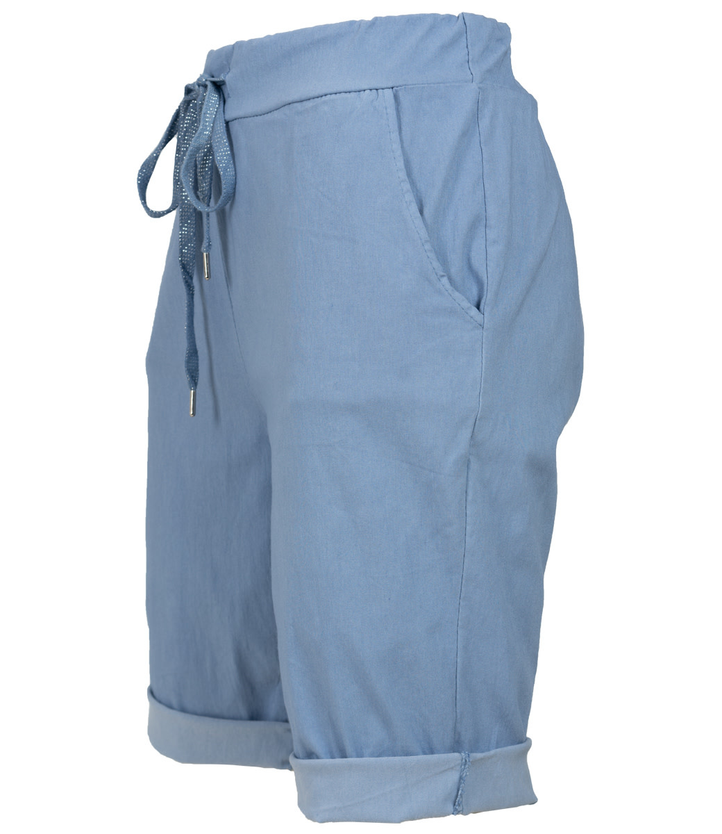 Wannahavesfashion Korte broek jeansblauw Cor