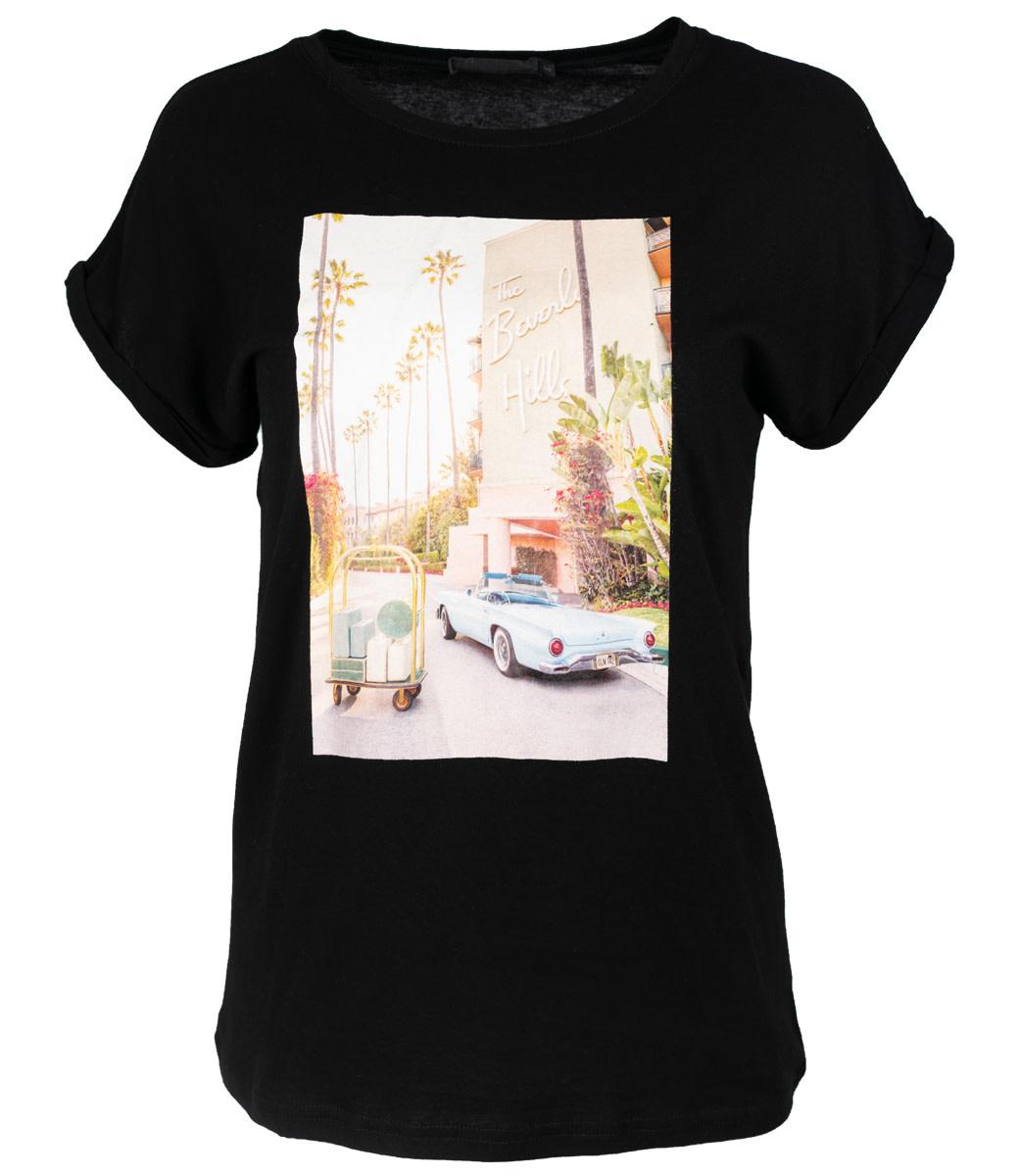 Rebelz Collection Shirt zwart Kaylinn