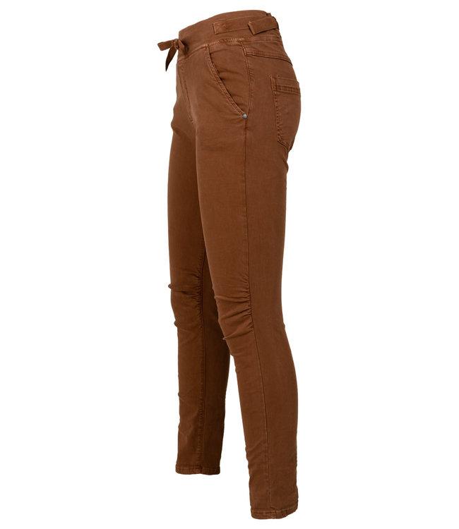 Melly&Co Jog jeans bruin Mc