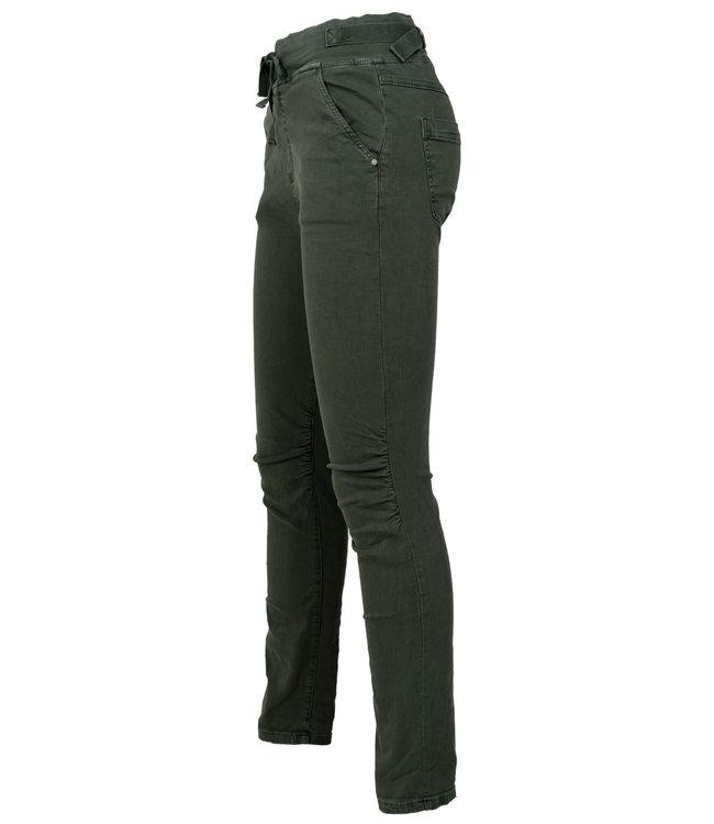 Melly&Co Jog jeans groen Mc