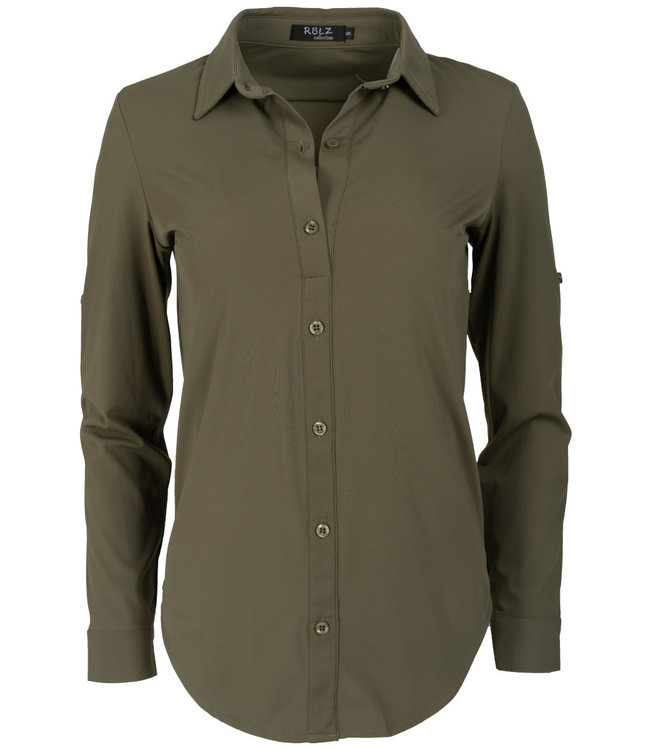 Rebelz Collection Blouse groen travel Lil