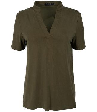Rebelz Collection Shirt groen Aniek