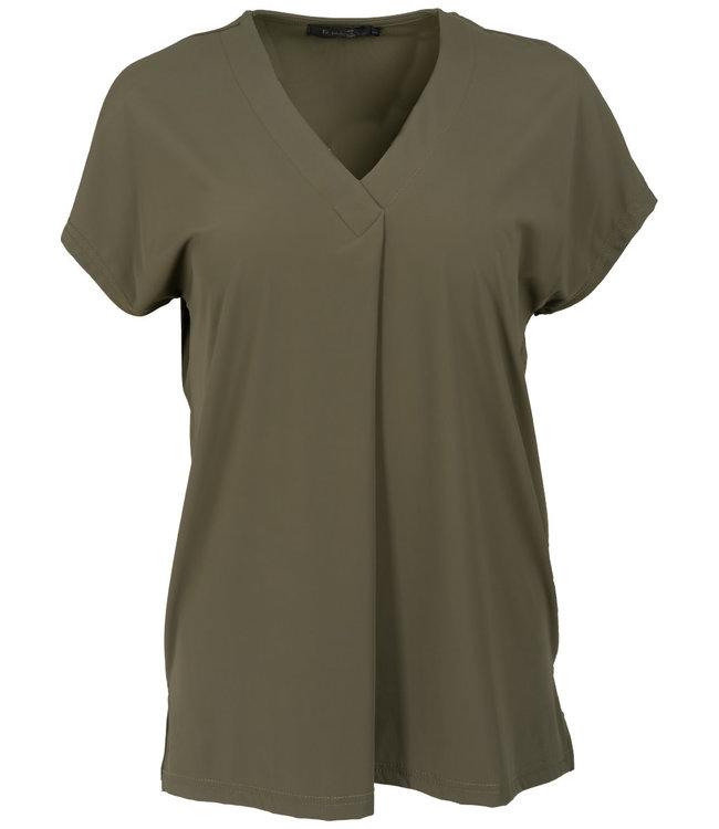 Rebelz Collection Shirt groen Tessa