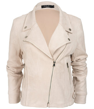 Rebelz Collection Biker jacket creme Lisa