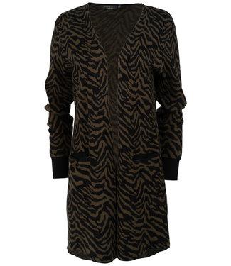 Rebelz Collection Vest groen/zwart Fieke