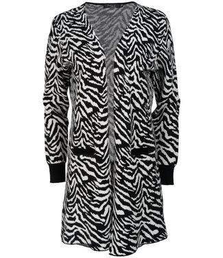 Rebelz Collection Vest wit/zwart Fieke