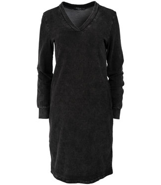 Rebelz Collection Sweaterdress antraciet Gaby