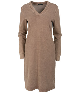 Rebelz Collection Sweaterdress bruin Gaby