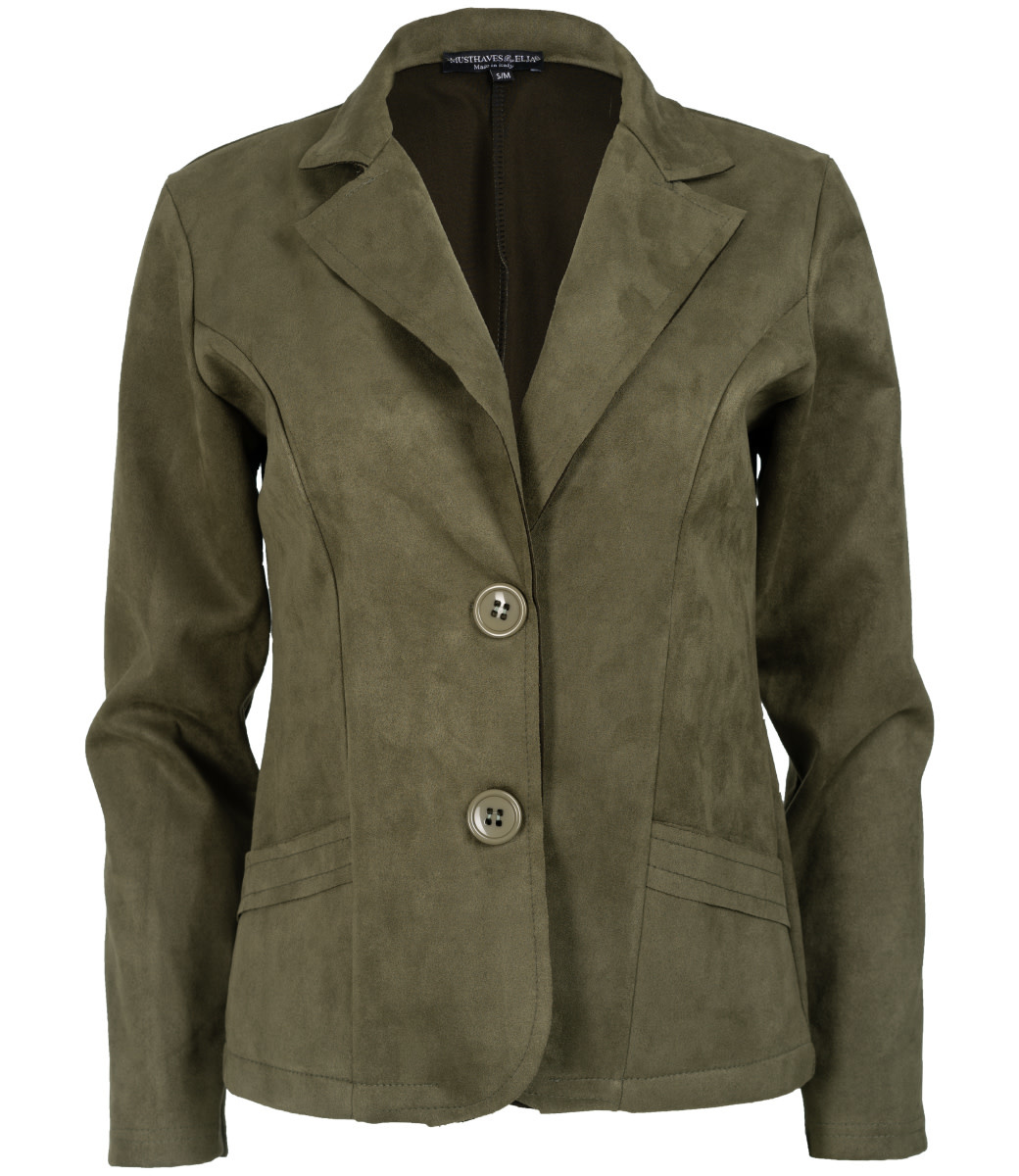 Wannahavesfashion Blazer army Renee