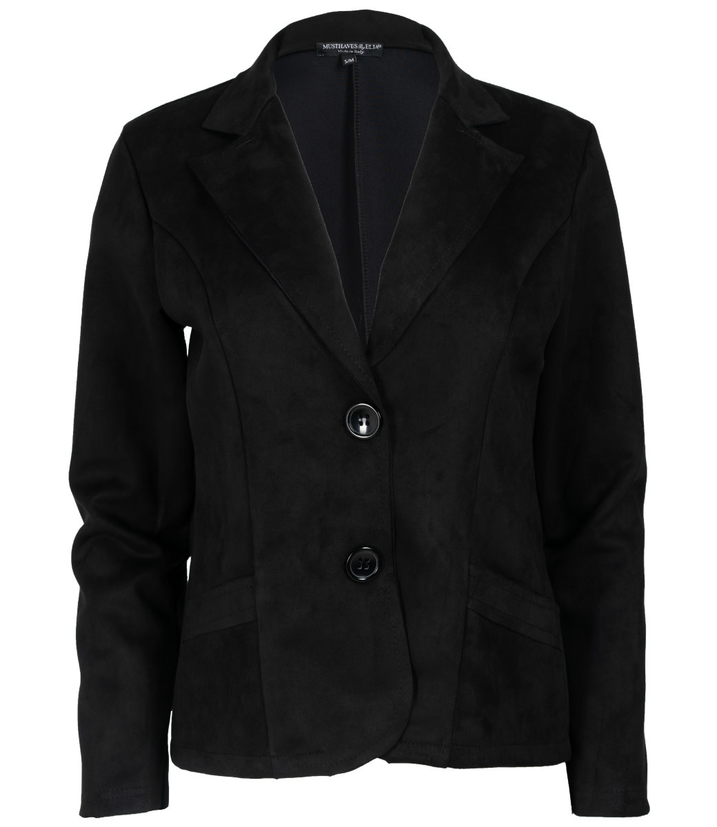 Wannahavesfashion Blazer zwart Renee
