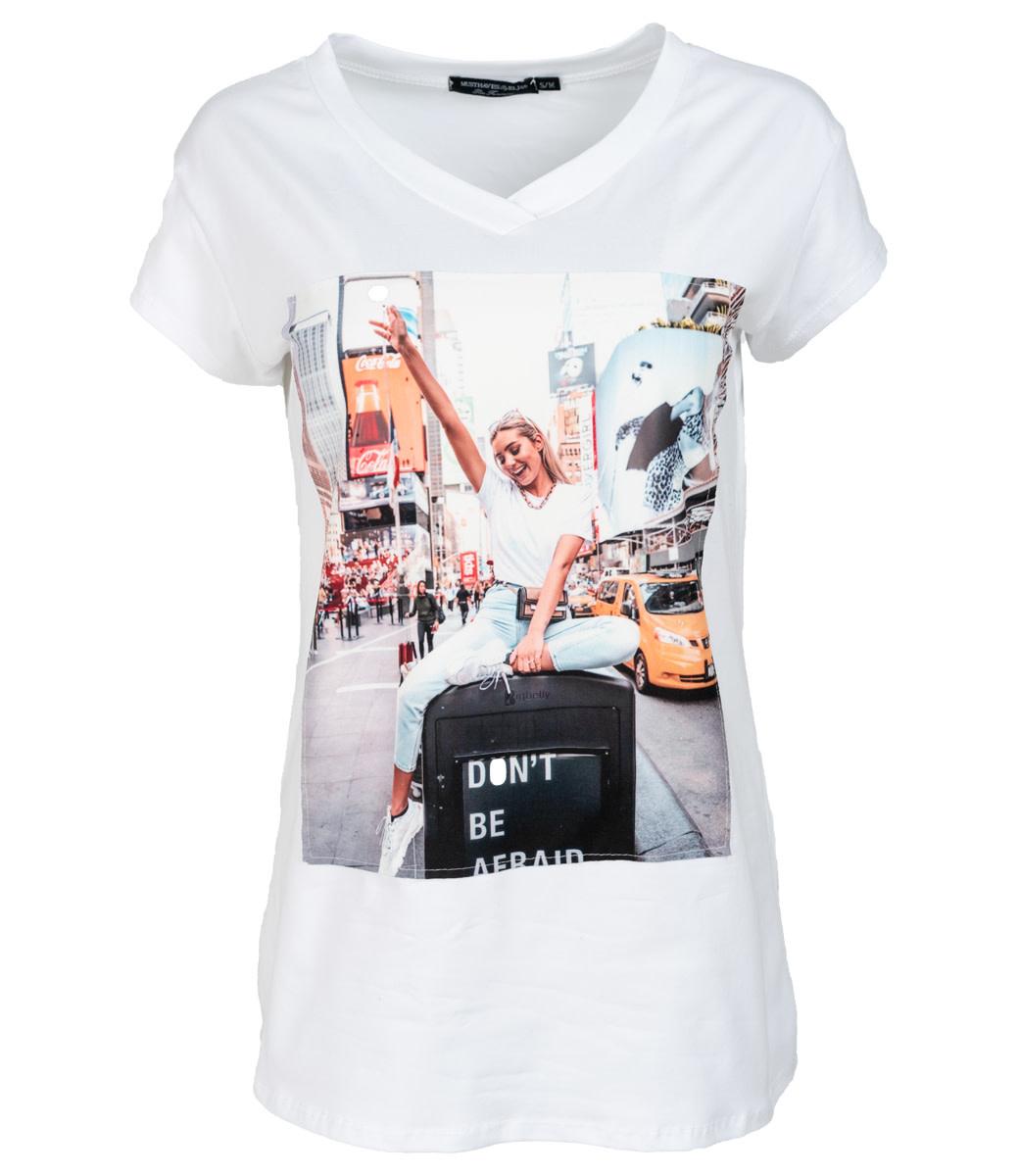 Wannahavesfashion Shirt wit print Mari
