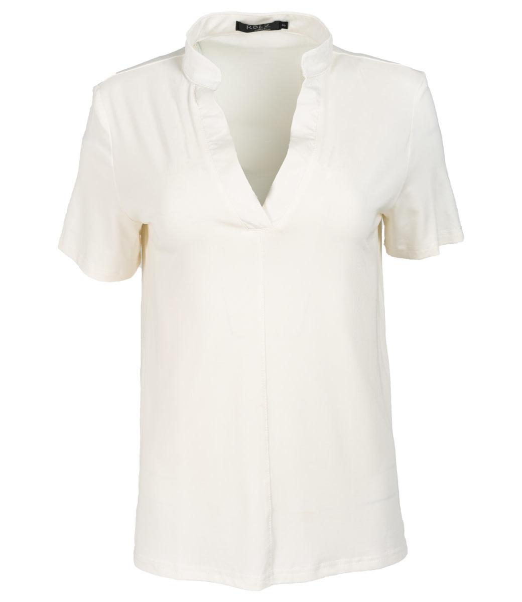 Rebelz Collection Shirt off white Aniek