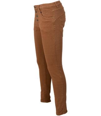 place du Jour Jog jeans Camel Leonie