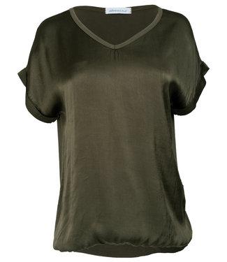 Rebelz Collection Shirt donkergroen Anna