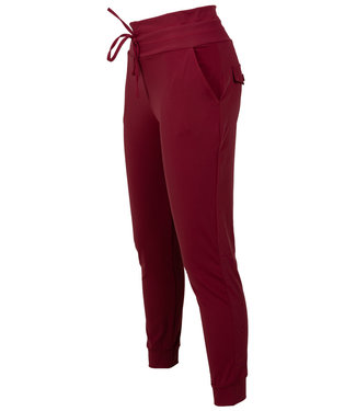Rebelz Collection Broek bordeaux travelstof Lil