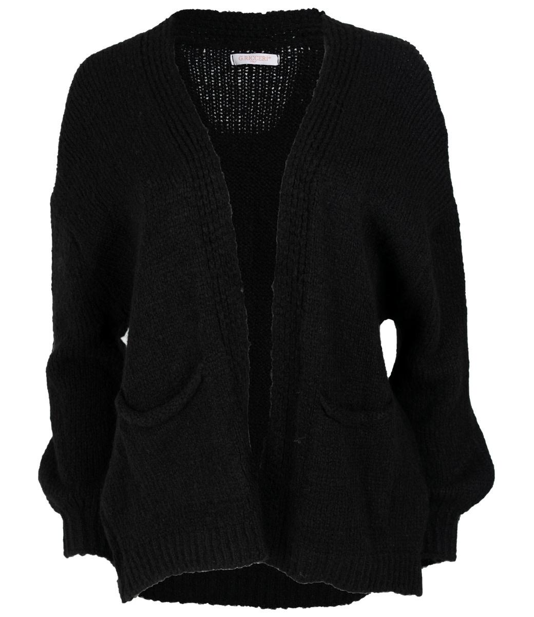 Gemma Ricceri Vest zwart Suus