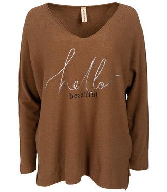 Gemma Ricceri Sweater camel Beautiful