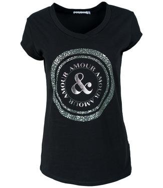 Gemma Ricceri Shirt zwart/groen Cindy