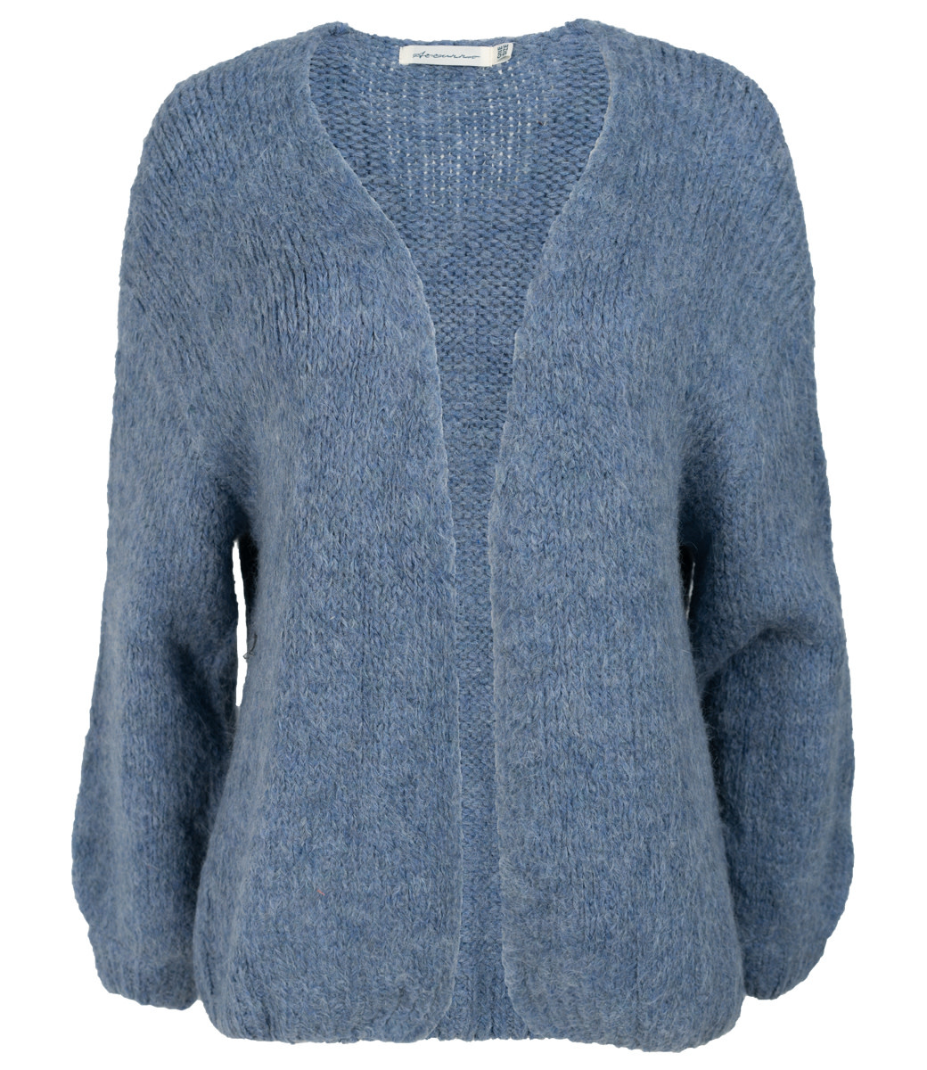 Azzurro Vest blauw kort Lenny